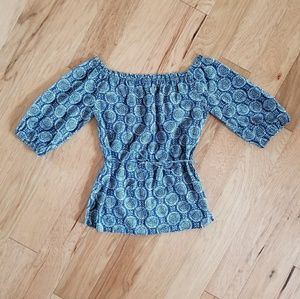Worth sz P (small) off the shoulder blouse